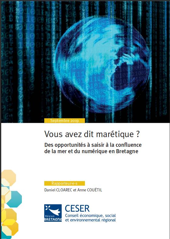 Publication du rapport du CESER sur la marétique.