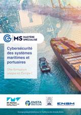 """Le Mastère Spécialisé """"Cybersécurité des systèmes maritimes et portuaires"""" ouvre ses portes à Brest en septembre 2020."""