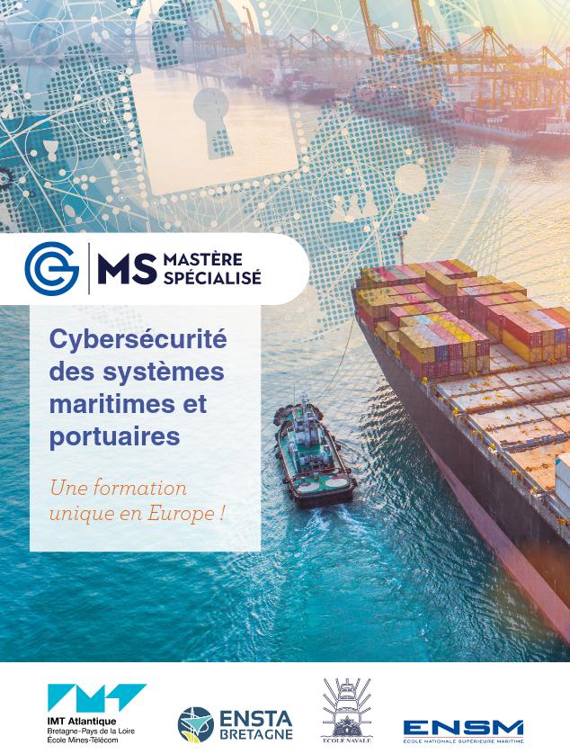"""Mastère spécialisé """"Cybersécurité des systèmes maritimes et portuaires"""" : les inscriptions sont toujours ouvertes !"""